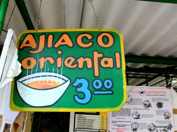 Ajiaco Oriental sopa